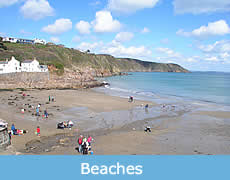 Beaches in South Cornwall
